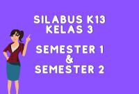 Silabus K13 Kelas 3