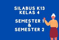 Silabus K13 Kelas 4